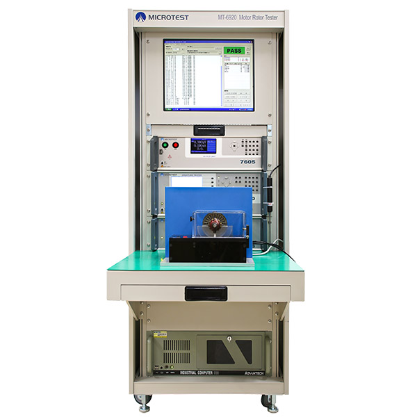 馬達轉子測試系統