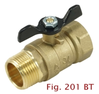 2-PC Brass Ball Valve