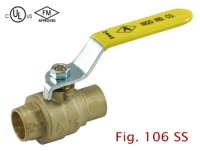 Cens.com 2-PC Brass Ball Valve NIGO INDUSTRIAL CO., LTD.
