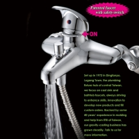 Faucet with safety-switch