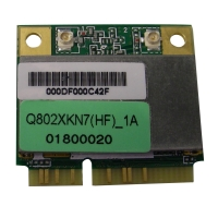 1T1R 802.11bgn, PCI-Express form factor, USB interface