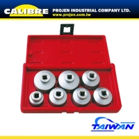 CALIBRE 7pc 3/8 Dr Oil Filter Socket