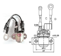 Cens.com GLOW PLUG RELAY MAN YI AUTO PARTS INDUSTRIAL CO., LTD.