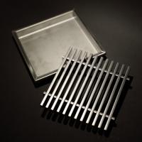 Floor drain with latticed grate (145mm*145mm)