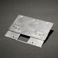 Cellphone slide cover actuating module