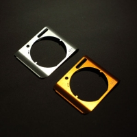 Metallic digital camera decorative panels