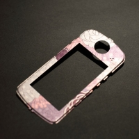Metallic digital camera panel