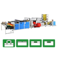 Fully Automatic 4 in One Bag Making Machine
