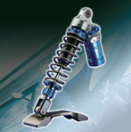 Rebound and compression adjust rear shock