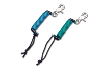 Ski slope safety leashes