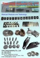 Stamped, processed metallic parts