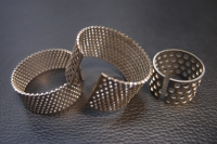 Stamped mesh parts