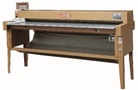 Electronic leather-measuring machine, bench-type