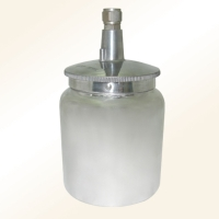 Aluminum air spray gun cups