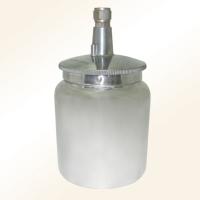 Aluminum air spray gun cups