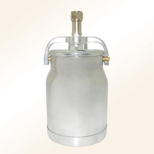 Aluminum suction paint canisters