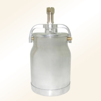 Aluminum suction paint canisters