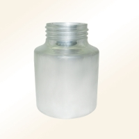 Low-pressure spray gun cups