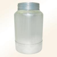 Large-capacity spray gun cups