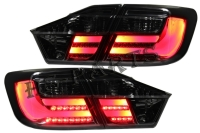 12-13 TY Camry Tail Lights Lamp Smoke Lens LED LIGHT BAR TYPE