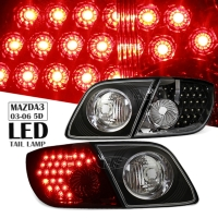 03-06 Mazda3 5D LED Taillights Lamps