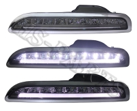 Cens.com 05-08 PORSCHE 987 / BOXTER LED DRL Bumper Driving Lights Lamps (Smoke) HUA SHENG AUTOMOTIVE LTD.