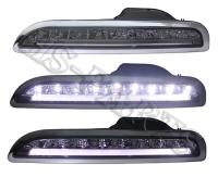 05-08 PORSCHE 987 / BOXTER LED DRL Bumper Driving Lights Lamps (Smoke)