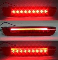 11-14 Nissan Juke LED Light Bar Hi-Mount 3rd Brake Stop Light Lamps (Red)