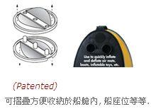 脚踏式充气泵浦(25.4x18.1x15.5cm)