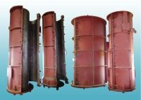 Polyester resin concrete pipe molds