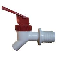 Drinking fountain faucet (semi-manual)