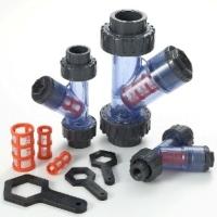 CLEAR PVC Y-STRAINER