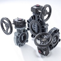 GEAR TYPE BUTTERFLY VALVE