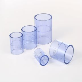 CLEAR PVC COUPLING