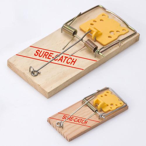 木制捕鼠器