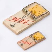 木製捕鼠器