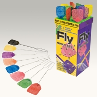 FLY SWATTER WITH WIRE HANDLE