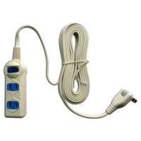 Cens.com Household power strip (1-switch, 2-socket, 15ft) CHIZ CROWN CO., LTD.