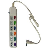 Household power strip (6-switch, 6-socket, 6ft)