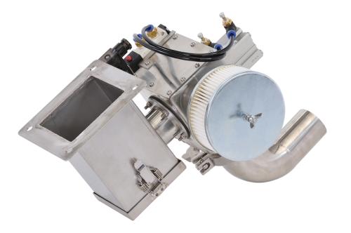 不锈钢断料阀式吸料机