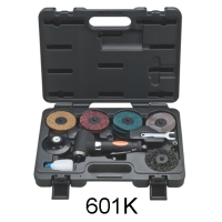 Cens.com Pneumatic Angle Grinder Kit Set QUAN DE XING AIR TOOLS ENTERPRISE CORP.