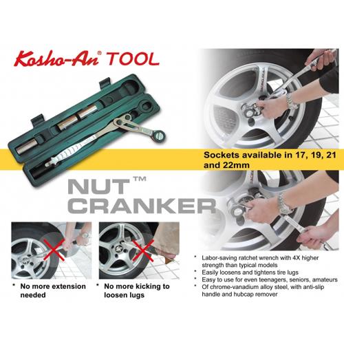 CAR REPAIR TOOL - Nut Cranker Set
