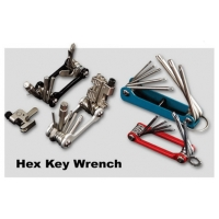 BIKE TOOL - Fold Type Star Key Wrench set