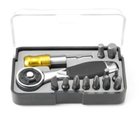 13 PC-- 72 teeth RATCHET Multi tool  BIT SET