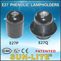 E27 Phenolic Lampholders