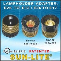 Lampholder Adapter, E26 To E12 / E26 To E17