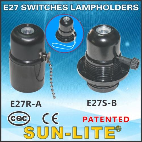 E27 Switches Lampholders