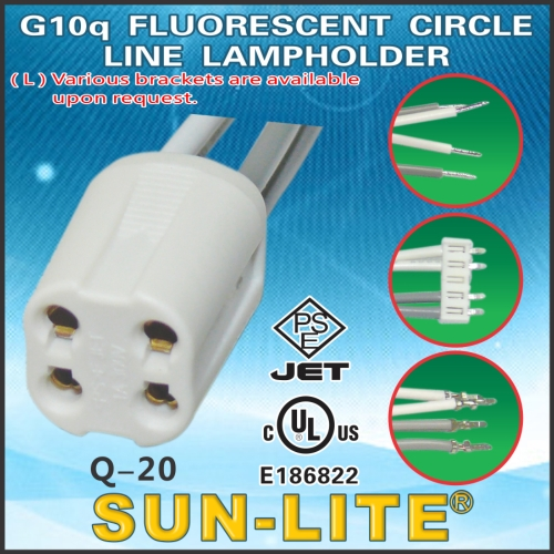 G10q Fluorescent Circle Line Lampholder