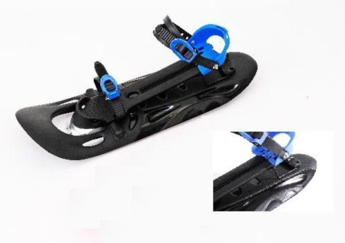 可调式塑胶雪鞋