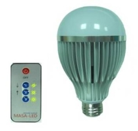 Wireless Remote Control (IR) .LED Bulb.